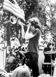 Jim Morrison photographed by Chuck Boyd, 1967.