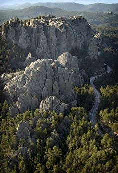 The Black Hills - South Dakota ( I love SD, I haven't been there since I was a little girl. I wouldn't mind living there since its close to my home state!-Nicole Sanchez)