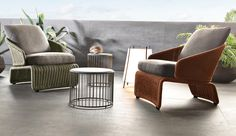 HALLEY OUTDOOR SOFA - Designer Sofas from Minotti ✓ all information ✓ high-resolution images ✓ CADs ✓ catalogues ✓ contact information ✓ find. Outdoor Armchair, Outdoor Tables, Outdoor Decor, Row Covers, Garden Sofa, Small Room Bedroom, Furniture Design, Luxury Furniture, Outdoor Furniture Sets