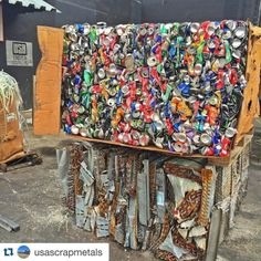 #Repost @usascrapmetals with @repostapp.  Aluminum cans and...