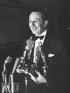 Winner of the most Oscars in history (62 I think it is), yet he only attended the Oscars this one time. Disney fact I heard the other day!