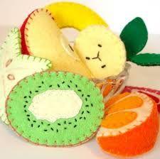 Resultado de imagen para como hacer frutas en pañolenci