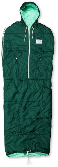 Just copped me one of these bad boys. Poler Stuff Green Napsack. #Campvibes