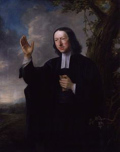 """""""John Wesley"""" by Nathaniel Hone (1766) at the National Portrait Gallery, London - From the curators' comments: """"Wesley was the founder of the Methodist movement which grew from the 'Holy Club' of his Oxford friends into a great religious revival. An indefatigable traveller, preacher and writer, Wesley averaged 8,000 miles a year on horseback and gave 15 sermons a week."""" His itinerant style of preaching allowed him to access people who did not normally attend church services (ex. the rural…"""