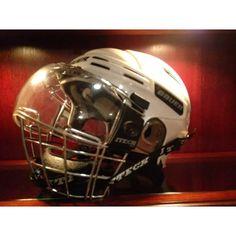 The new bucket! Hockey Gear, Football Helmets, Bucket, Hats, Hat, Buckets, Hipster Hat, Aquarius
