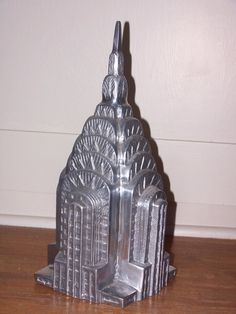 18 Inch Chrysler Building Statue Souvenirs Marbles And