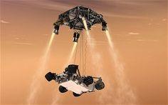 Curiosity Mars Landing: as it happened - Telegraph