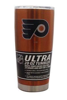 Philadelphia Flyers Travel Tumbler 20 oz Ultra Flared Orange #PhiladelphiaFlyers