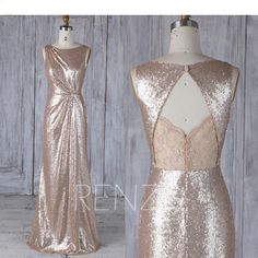 Bridesmaid Dress Tan Sequin,Asymmetric Ruched Wedding Dress,Lace Illusion Open Back Prom Dress,Maxi Bodycon Evening Dress Full Length Ruched Wedding Dress, Sequin Bridesmaid Dresses, Sequin Wedding, Sequin Party Dress, Wedding Dresses, Dress Lace, Bridesmaids, Tan Wedding, Sequin Maxi
