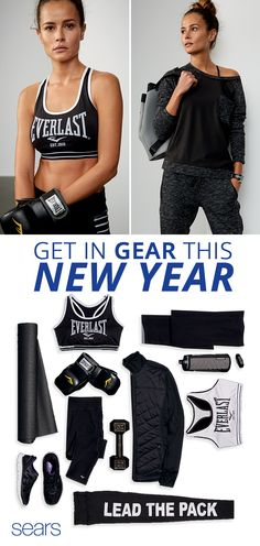 Upgrade your wardrobe and your workout wear this year with Sears. Even if you're working out at home with an exercise ball, stay comfortable and flexible with clothes that offer you unrestricted movement. Discover more of Sears's collection of activewear essentials from lightweight tops to sweatshirts and jackets for colder weather. Shop brands like Everlast for activewear that will make you look and feel your best.