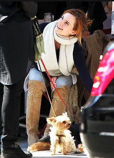 Emma Watson Style :) Love this look. So, so cute!