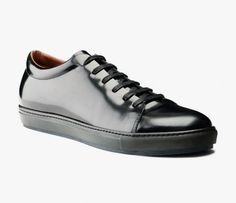 Acne – Adrian Low-Top Leather Sneakers