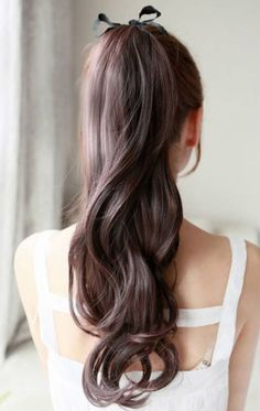 10 Ways to Make Your Ponytail Cooler Scope out these gorgeous pics, find your fave and then learn how to recreate it at home.