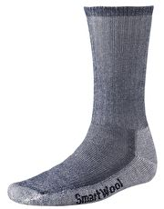 SmartWool Mens Hiking Medium Crew Sock - Navy The Smartwool Hiking Medium Crew Sock is a great backpacking sock that gives support, comfort, protection and breathability whilst on a rugged trail http://www.MightGet.com/january-2017-13/smartwool-mens-hiking-medium-crew-sock--navy.asp