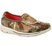 #New Realtree Camo SKECHERS Women's Skechers GOwalk - Timber Athletic Sneakers $62.00  #Realtreecamo