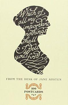 From the Desk of Jane Austen: 100 Postcards by Potter Style http://smile.amazon.com/dp/0770436692/ref=cm_sw_r_pi_dp_qqidwb1S3XJW8