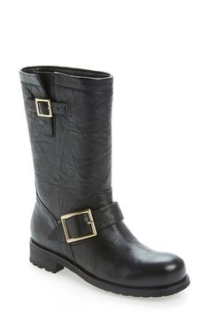 61d18b188356 Free shipping and returns on Jimmy Choo Motorcycle Boot at Nordstrom.com.  Rich