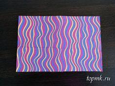Цветной картон своими руками, дизайнерская бумага, мастер-класс
