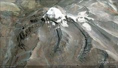 Mt Kailash, the abode of Lord Shiva on Google Earth