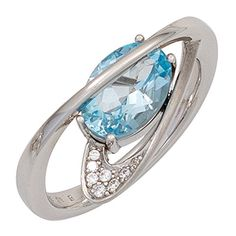 Blue Topaz Ring, 925 Silver, Jewelry Watches, Sapphire, Rings For Men, Ebay, Jewels, Engagement Rings, Stone