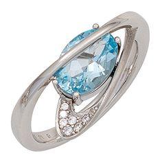Damen-Ring teilmattiert Silber 1 Topas 1 Zirkonia 56 (17.8) Dreambase http://www.amazon.de/dp/B00N5BUNZS/?m=A37R2BYHN7XPNV