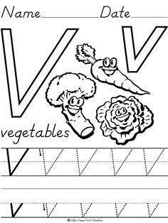 V Is For Vegetables V is for Vegetables on...