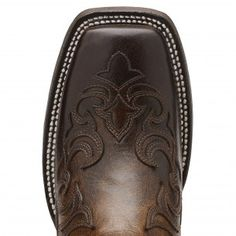 Ariat Women's Cassidy Square Toe Brown Cowboy Boots
