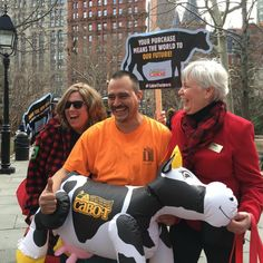 Cabot Farmers - Farmers' Gratitude Tour in NYC