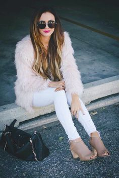 How to style a Faux Fur coat