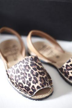 Avarca Animal Print Leopard