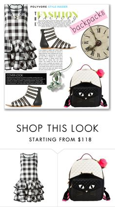 """""""Untitled #1339"""" by kriz-nambikatt ❤ liked on Polyvore featuring Dolce&Gabbana, Betsey Johnson, backpacks, contestentry and PVStyleInsiderContest"""