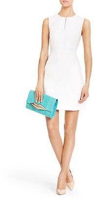 Margarina Linen Dress In White Diane von Furstenberg