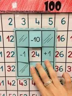 Hundred field sums - Math Math Classroom, Kindergarten Math, Teaching Math, Montessori Math, Homeschool Math, Homeschooling, Primary Maths, Math Numbers, 1st Grade Math