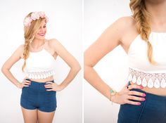 Get this gorgeous top with this simple DIY.