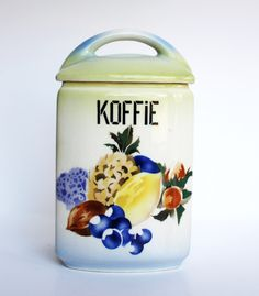 coffee cannister for the dutch market. Privatsammlung