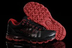 48061401baa80c YesBuyAirMax90.com Hot Sale Nike Air Max 2013 Womens Black Red Shoes For  Cheap  amp
