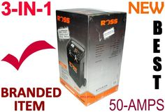 Battery Charger ROSS 50-amps 3-in-1 LOADED MODEL