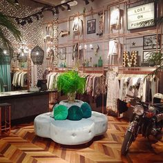 Grand opening for our newest Odd Molly Boutique at Mall of Scandinavia Boutique Decor, Boutique Interior, Shop Interior Design, Retail Design, Interior Design Living Room, House Design, Boho Boutique, Clothing Store Design, Store Interiors