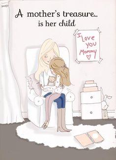 A mother's treasure - Rose Hill Designs: Heather Stillufsen ♥ ℳ ♥