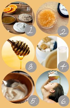 18 Natural Organic Skin Care DIY Home Made Beauty Recipes For Healthy Skin And Hair (REPIN)
