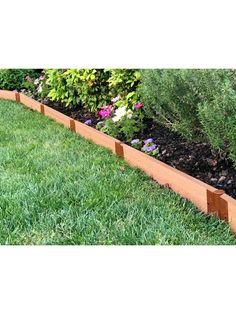 No Dig Garden Edging - EasyFlex™ Landscaping Edging Landscaping Tools, Landscaping With Rocks, Outdoor Landscaping, Front Yard Landscaping, Acreage Landscaping, Landscaping Design, Landscaping Borders, Landscaping Company, Landscape Edging