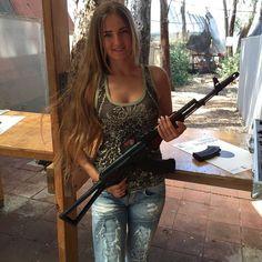 Shooting Gear, Guns, Female, Sexy, Beauty, Women, Weapons Guns, Revolvers, Weapons
