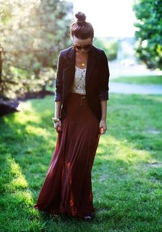 Girly fall fashion