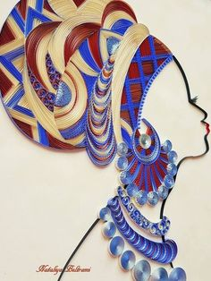 Creative Gifts For Photographers [It doesn't have to be costly] Arte Quilling, Paper Quilling Designs, Quilling Paper Craft, Quilling Patterns, Paper Crafts, Quiling Paper Art, African Art Paintings, Gifts For Photographers, Button Art