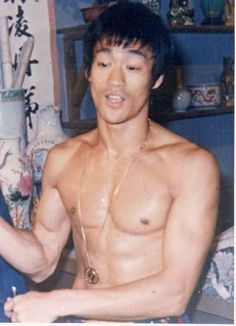 Bruce Lee in top shape.  I have watched every movie and followed him for years.  He inspired me to take karate