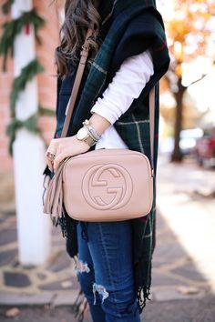 Shop the Gucci Official Website. Bag Prada, Gucci Bags, Soho Disco Bag, Gucci Crossbody, Style Classique, Gucci Soho Disco, Cloth Bags, Leather Shoulder Bag, Shoulder Bags