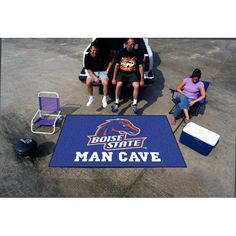 Boise State Broncos NCAA Man Cave Ulti-Mat Floor Mat (60in x 96in)