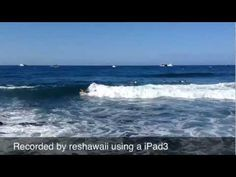 A beautiful morning on the shore of the Pacific Ocean in Kailua Kona - 2013.    Recorded with a iPad3 at 1080p HD video. To see the video in HD you may need to adjust your YouTube settings.      Visit my channel to see more videos:  http://www.youtube.com/user/19degreesdotcom      Subscribe to be notified when this video is updated or another video is added.  ht...