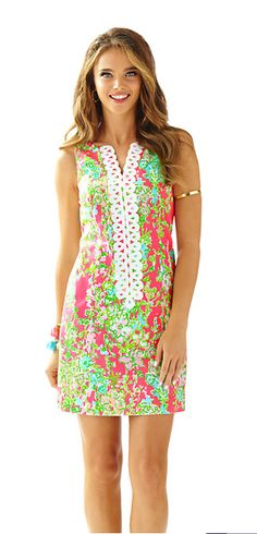 Lilly Pulitzer Cathy Shift Dress - Southern Charm