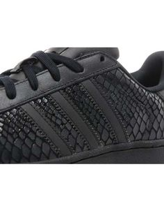 adidas superstar zwart croco